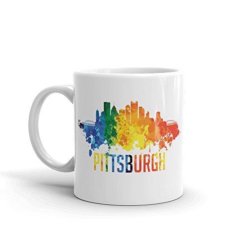 Pittsburgh City Travel 11oz Ceramic Coffee Mug