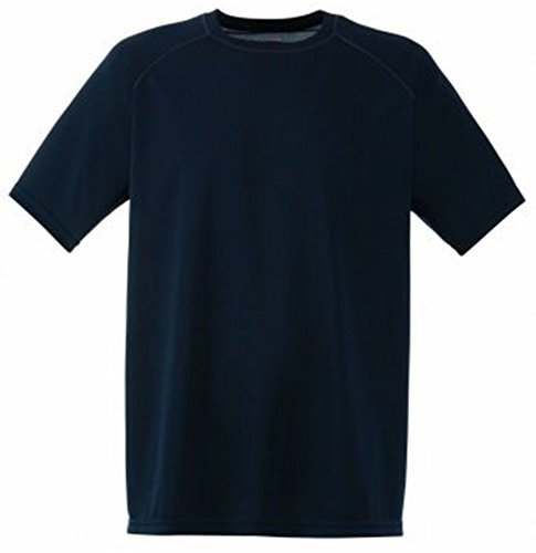 Fruit of the Loom Performance T-Shirt in Deep Navy Groß