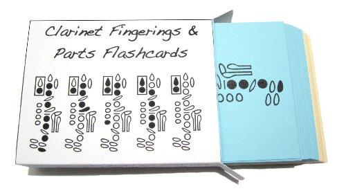 Clarinet Fingerings & Clarinet Parts Flashcard Set