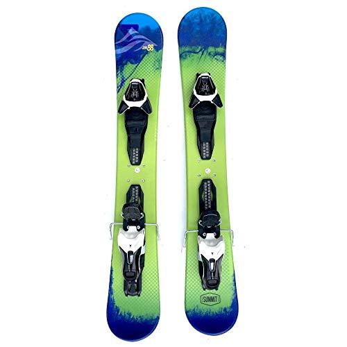 Summit ZR 88cm Skiboards Snowblades with Atomic L10 Release Bindings - Ski Blades