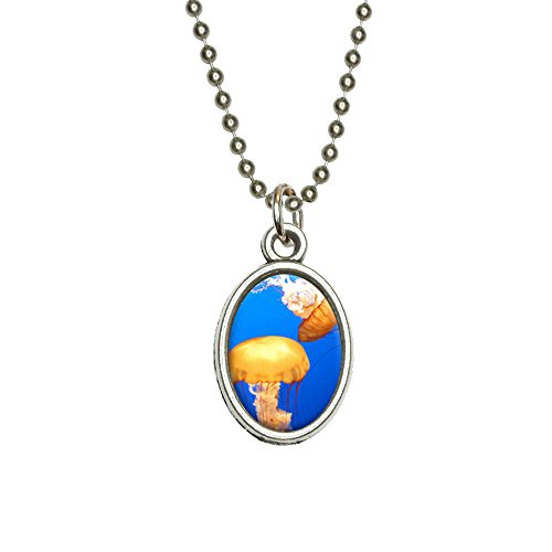 jelly fish pendant - 4