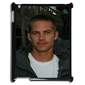 Paul Walker Fashion Comstom Plastic case cover For Ipad 2/3/4 Case RVNLI_W914786