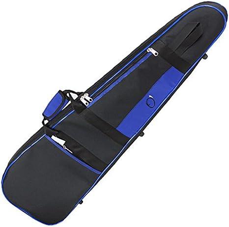 FUNDA GAITA REF. 291 C.B. MONTADA (96X24X10X8cm) Negro/Azul: Amazon.es: Instrumentos musicales