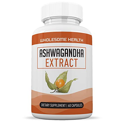 Organic Ashwagandha Herbal Supplement – Supports Memory, Attention and Information Processing – Formulated for Stress and Anxiety – Enhances Energy and Physical & Mental Well-Being