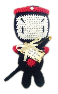 Image of Mirage Pet Products 500-014 Knit Knacks Miyagi Organic Cotton Dog Toy, Small