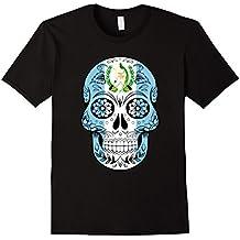 Guatemala Skull Flag Tshirt