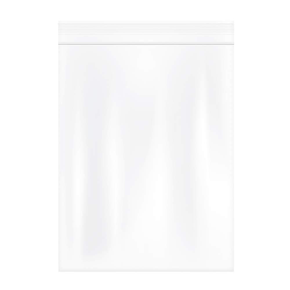 Herodada 10'' x 13'' 100pcs Resealable Plastic Bag Reclosable Zip Bags, 2Mil
