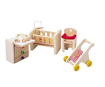 Plan Toy Doll House Nursery from Plan Toys