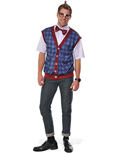 Rubie's Costume Co. Men's Nerd Male Costume, As Shown, - Costume Pants Nerd