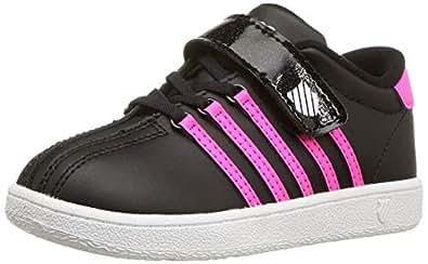 K-Swiss Girl's Classic VN VLC Shoe Black Size: 1 Little Kid