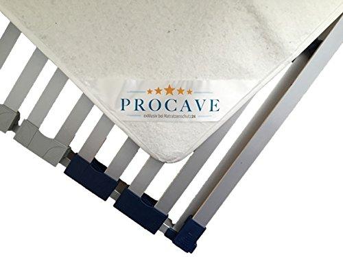 PROCAVE Filzschoner für den Lattenrost in verschiedenen Größen - Made in Germany | Matratzen-Schoner und Matratzen-Unterlage 90x200 cm | atmungsaktiv und schützend