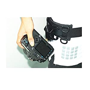 IMZ DSLR Camera [2in1 Bundle] [Multifunctional Belt + Clip] Waistband Strap Holder Holster for Nikon Canon Sony Pentax Fujifilm Olympus Panasonic DSLR Cameras, Lens Cases, Tripod and Accseeories