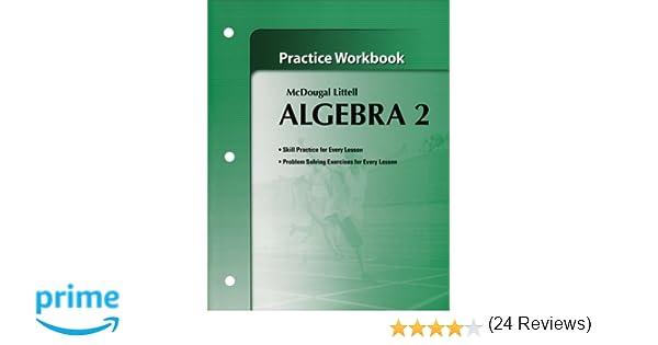 Workbook Algebra 2 Worksheets With Answer Key Printable – Mcdougal Littell Algebra 2 Worksheet Answers