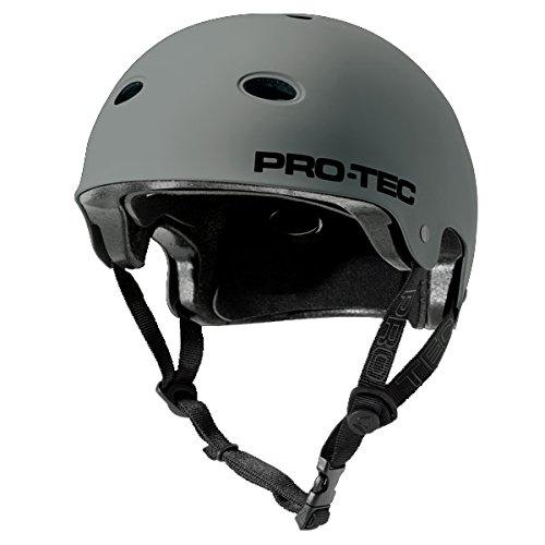 Pro-tec B2 Skate SXP Matte Skateboard Helmet, Grey, Small