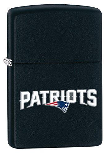 Zippo Lighter - NFL New England Patriots Black ()