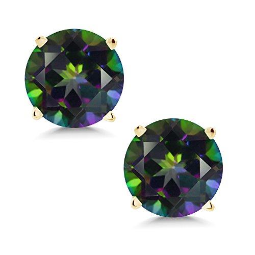 Green Topaz Earring - 7