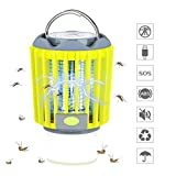 Bug Zapper,3 in 1 Mosquito Killer Tent Light/Portable LED Camping Lantern Flashlight/Camping Lamp,Portable