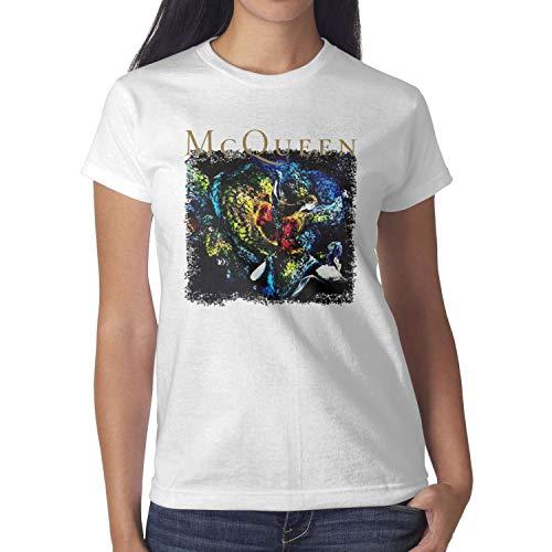 an-Alexander-McQueen-Documentary-Film- Woman T-Shirts Comfortable Sports Cotton Short Sleeve Tops Tees