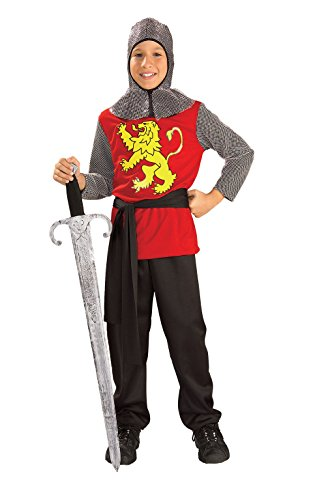Dark Age Knight Costumes (Rubies Medieval Lord Child Costume, Large)