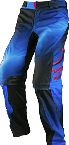 Fox Racing Switch Kenis Women's Dirt Bike Motorcycle Pants - Blue/Red / 7/8 (Dirt Bike Pants Over Boot)