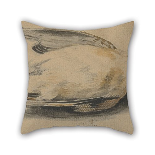 Artistdecor Oil Painting Paul Sandby - A Dead Bird Throw Pillow Case 18 X 18 Inches / 45 By 45 Cm Best Choice For Kids Girls,coffee House,seat,couch,adults,club With Each Side