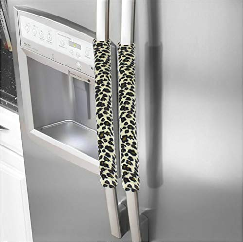 - Little Story A Pair Refrigerator Handle Cover Kitchen Appliance Refrigerator Cover