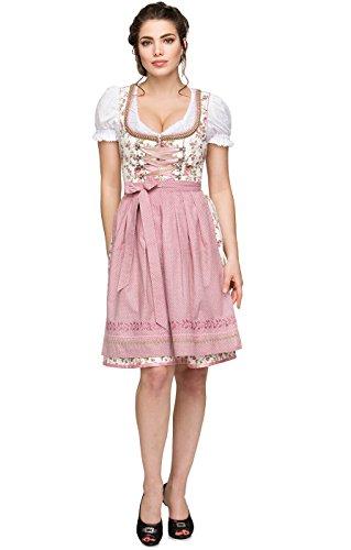 Mididirndl Astrid 2tlg. 60cm rose