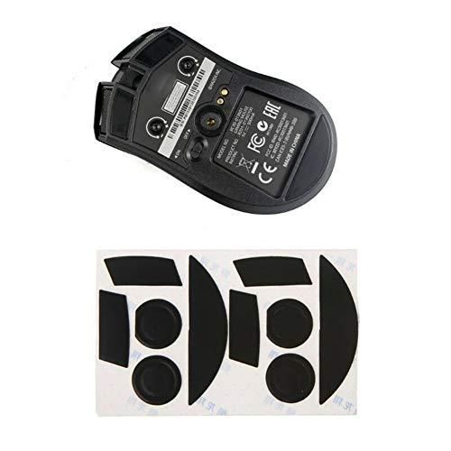 yunbox299 2 Sets Mouse Mice Feet Skates Sticker, yunbox2992 Sets 0.6mm Thickness Mouse Feet Skates for Razer Mamba 2015 Chroma 5G/Mamba