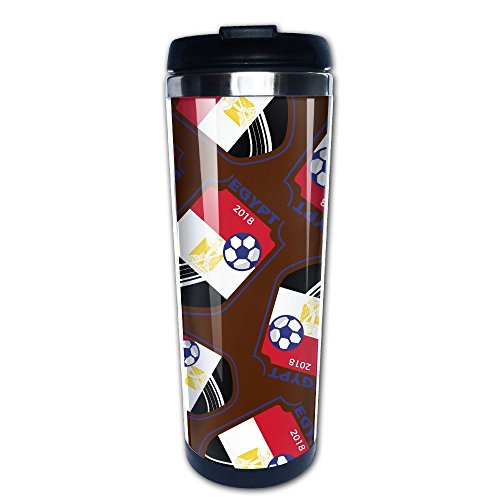 400 Egypt Air (2018 Football Egypt Lover Vacuum Insulated Tumbler Travel Mugs Portable Stainless Steel Coffee Cups)