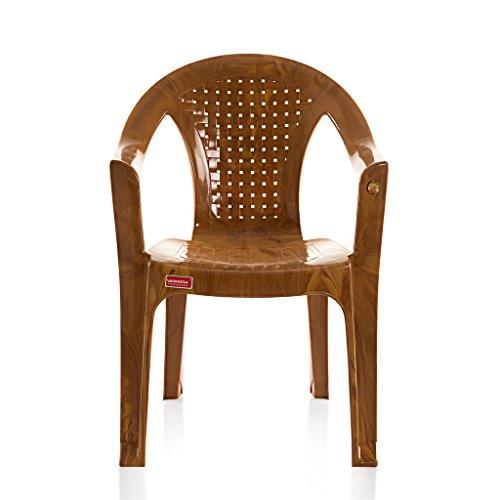 Varmora Medium Back Chair (Netted – Multi Color)