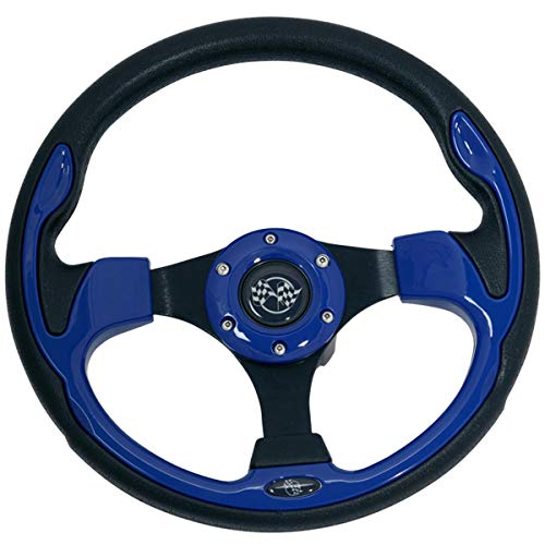 Buggies Unlimited Golf Cart Rally, Sport Steering Wheel ()