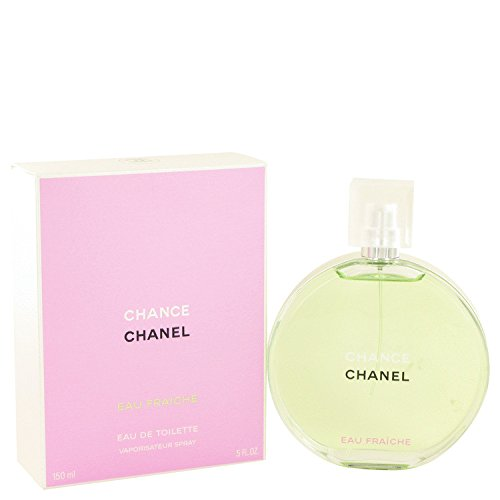 Chànel Chànce Pérfume For Women 5 oz Eau Fraiche Spray + a FREE 6.7 oz Hand & Body Cream