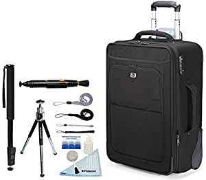 Lowepro NEW Pro Roller X300 AW Photo Rolling Case For Dslr Cameras & Lenses + Accessory Kit
