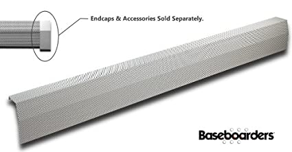 Baseboarders 4 Length Premium Baseboard Heater Cover Panel Only