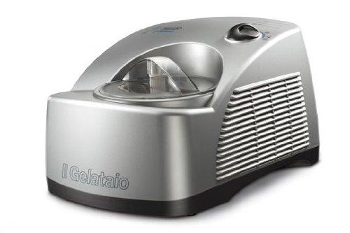 1.2 L 230 W DeLonghi ICK6000 Heladera con recetario color plata acero inoxidable