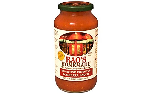 Rao's Homemade All Natural Sensitive Formula Marinara Sauce - 24 oz (12 Pack)