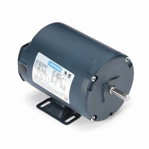 Leeson Electric 101013.00 - General Purpose Motor - 3 ph, 0.33 hp, 3600 rpm, 208-230/460 V, 48 Frame, Totally Enclosed Non Ventilated Enclosure, 60 Hz, Rigid base Mount ()