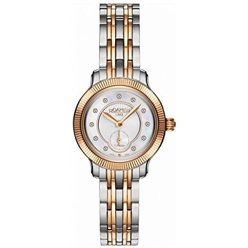 Roamer of Switzerland Women's 28mm Two Tone Steel Bracelet Steel Case Quartz Analog Watch 625855 49 29 60
