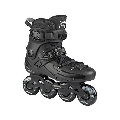 Seba FR1 80 2016/2017 Freeride/Recreational Inline Skates - Black 80mm - Size ()