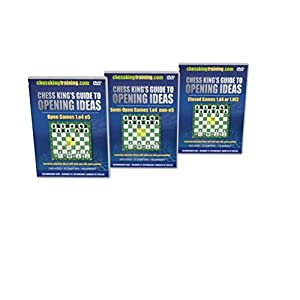 Chess King's Guide to Opening Ideas - ALL 3 VOLUMES Chess Software