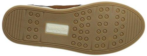 Shell Sneaker tortoise Pantofola Uomo Tabacco Mondovi marrone Low D'oro qppt8SP