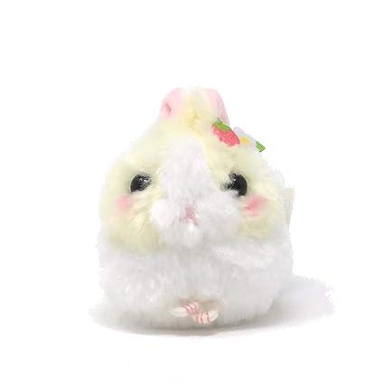 Amazon.com: Amuse Bunny - Llavero de peluche, color crema y ...