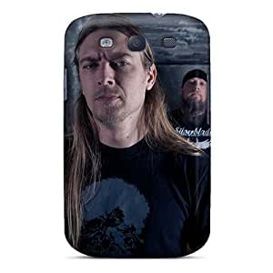 Excellent Hard Cell-phone Case For Samsung Galaxy S3 (mcC14319BTNs) Customized Vivid Grave Band Series