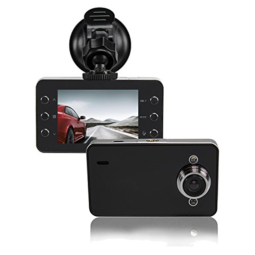 Automotive 720p HD Dashcam w/Night Vision 2.4″ LCD Screen & Windshield Mounting Review