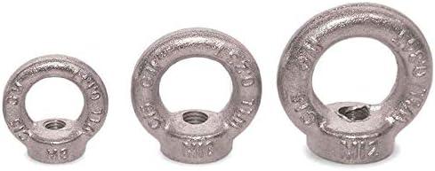 Seilwerk STANKE 50x Ringmutter M10 Ringsmutter 10 mm /Öse Mutter Auge verzinkt