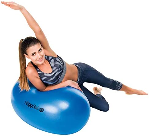 Pezziball - Pelota ovalada para ejercicios de gimnasio amarillo ...