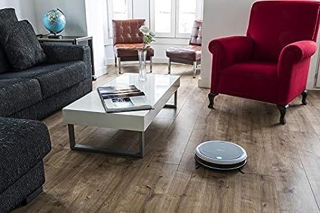 Cecotec Robot Aspirador Conga serie 890. 1000 Pa, 2 en 1 Barre y Aspira, Programable, Batera 10,8V, dos Cepillos Laterales, Deposito 300ml, Tecnologa OnlySIlence.: Amazon.es: Hogar
