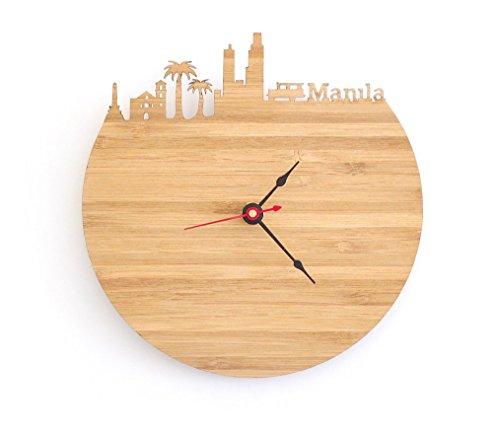 Manila Skyline Clock