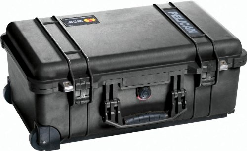 Pelican 1510 Case With Foam (Black) by Pelican