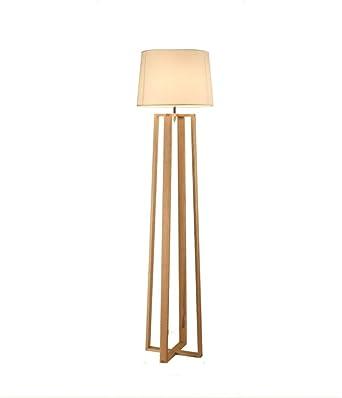 Elegante Lámpara de Pie For la lectura Lámparas de pie - siempre arriba Muebles Iluminación de madera